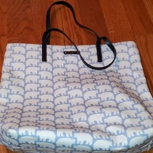 Authentic kate spade polar bear tote